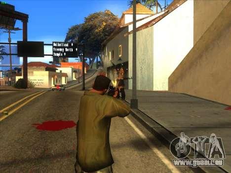AK-103 für GTA San Andreas fünften Screenshot