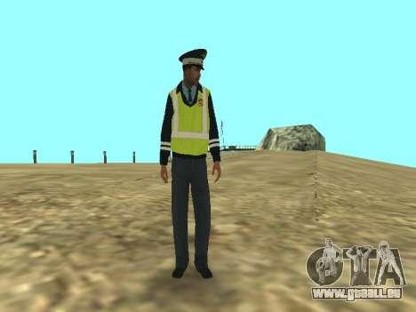Haut der Mitarbeiter DPS für GTA San Andreas