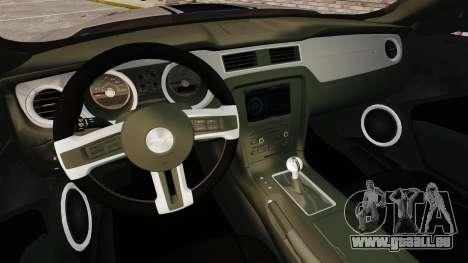 Ford Mustang GT 2013 für GTA 4 Seitenansicht