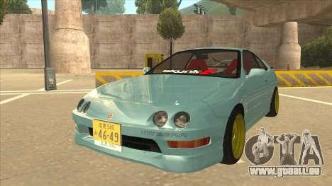 Honda Integra JDM Version für GTA San Andreas