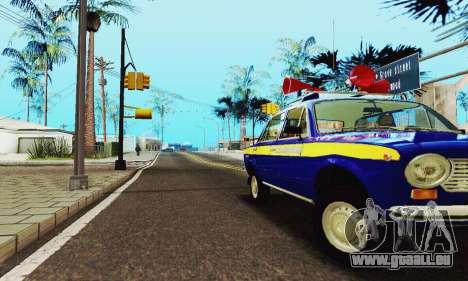 VAZ 21011 Propaganda für GTA San Andreas Seitenansicht