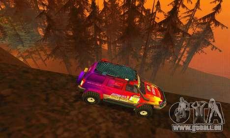 UAZ Patriot essai pour GTA San Andreas vue de côté