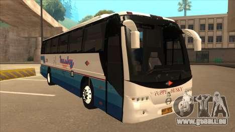 Husky Tours 2288 pour GTA San Andreas laissé vue