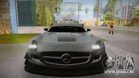 Mercedes-Benz SLS (AMG) GT3 für GTA San Andreas
