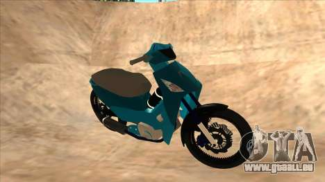 Honda 125cc Tuning für GTA San Andreas linke Ansicht