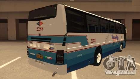 Husky Tours 2288 pour GTA San Andreas vue de droite