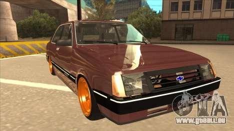 Chevrolet Chevette SLE 88 pour GTA San Andreas laissé vue