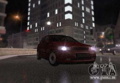 Opel Astra G für GTA San Andreas