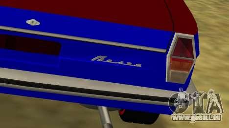 Volga gaz-24 Fun pour GTA San Andreas sur la vue arrière gauche