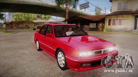 Mitsubishi Galant VR-4 (E39A) 1987 HQLM pour GTA San Andreas vue arrière