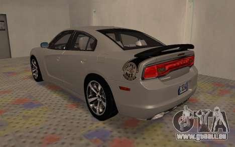 Dodge Charger Super Bee pour GTA San Andreas vue de droite