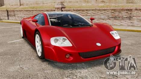 Volkswagen W12 Nardo 2001 [EPM] pour GTA 4