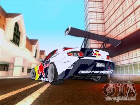 Mazda RX-8 NFS Team Mad Mike für GTA San Andreas Seitenansicht