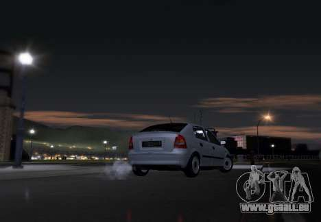 Opel Astra G pour GTA San Andreas vue de droite