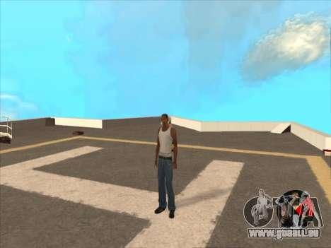 Umschalten zwischen Zeichen wie in GTA V 2.0 für GTA San Andreas zweiten Screenshot