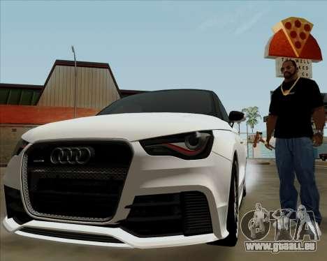 Audi A1 Clubsport Quattro für GTA San Andreas Seitenansicht