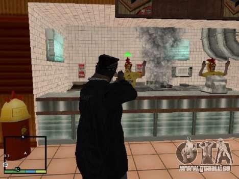Vol magasin pour GTA San Andreas quatrième écran