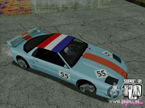 Super GT HD pour GTA San Andreas roue