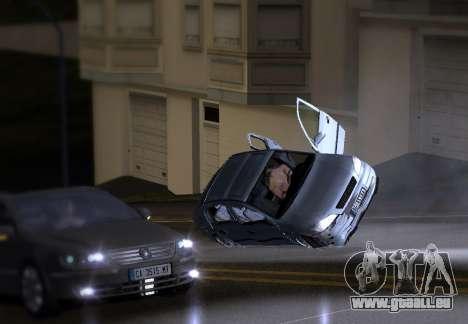 Opel Astra G für GTA San Andreas Rückansicht