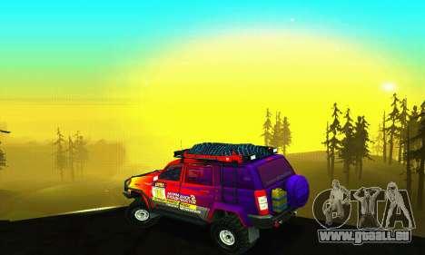 UAZ Patriot essai pour GTA San Andreas moteur