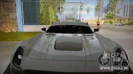 Mercedes-Benz SLS (AMG) GT3 für GTA San Andreas Seitenansicht