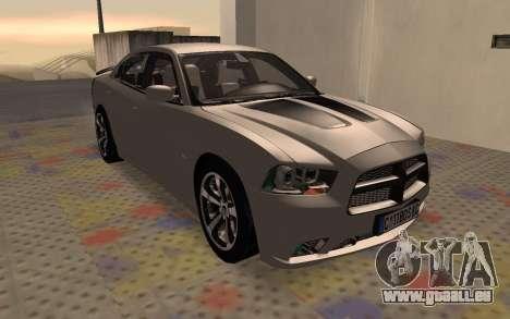 Dodge Charger Super Bee pour GTA San Andreas laissé vue