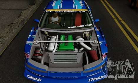 Nissan Silvia S15 Toyo Drift für GTA San Andreas zurück linke Ansicht
