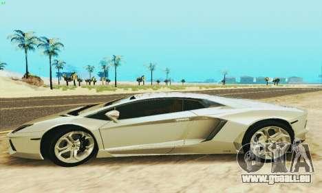 Lamborghini Aventador LP700 für GTA San Andreas linke Ansicht