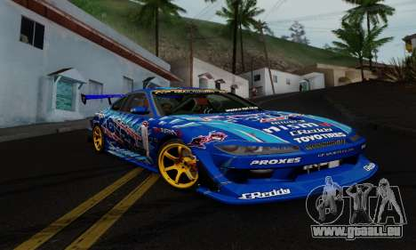 Nissan Silvia S15 Toyo Drift für GTA San Andreas