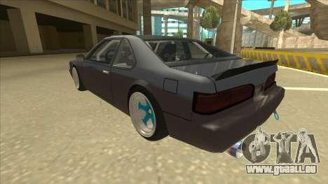 Fortune Drift pour GTA San Andreas vue arrière
