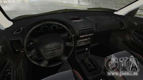 Acura Integra Type-R Domo Kun pour GTA 4 est une vue de l'intérieur