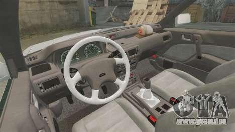 Mitsubishi Galant v2.0 pour GTA 4 Vue arrière