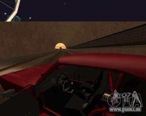 Dodge Charger Daytona für GTA San Andreas Unteransicht