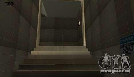 Retekstur l'intérieur de l'hôtel de ville pour GTA San Andreas dixième écran