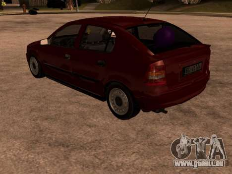 Opel Astra G für GTA San Andreas obere Ansicht