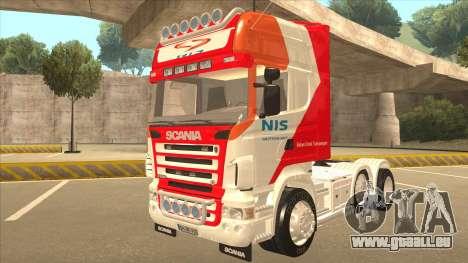 Scania R620 Nis Kamion pour GTA San Andreas