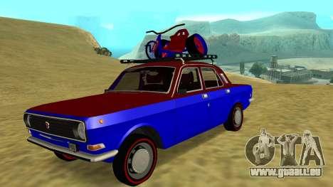 Volga gaz-24 Fun pour GTA San Andreas