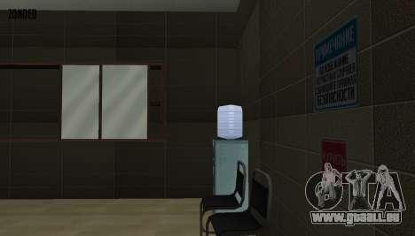 Retekstur l'intérieur de l'hôtel de ville pour GTA San Andreas neuvième écran