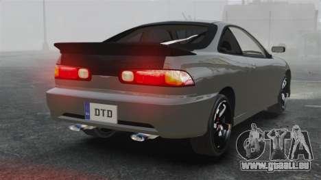 Acura Integra Type-R Domo Kun pour GTA 4 Vue arrière de la gauche