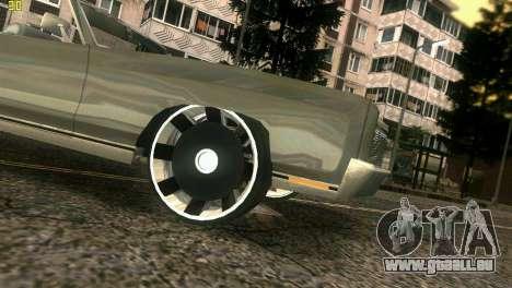 Chevy Monte Carlo pour GTA Vice City vue latérale