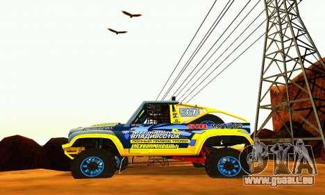 UAZ 31514 Rally pour GTA San Andreas vue de droite