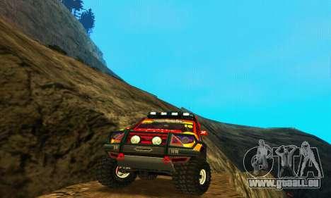 UAZ Patriot-Testversion für GTA San Andreas rechten Ansicht