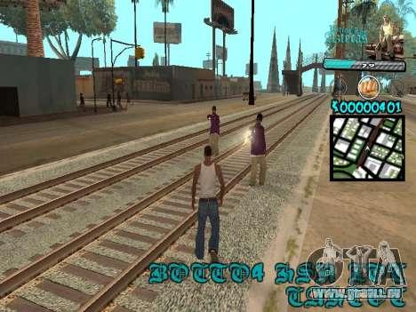 C-HUD by Kerro Diaz [ Aztecas ] pour GTA San Andreas troisième écran
