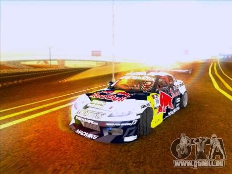 Mazda RX-8 NFS Team Mad Mike pour GTA San Andreas laissé vue