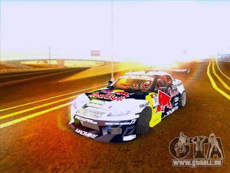 Mazda RX-8 NFS Team Mad Mike für GTA San Andreas linke Ansicht