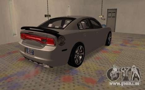 Dodge Charger Super Bee für GTA San Andreas zurück linke Ansicht