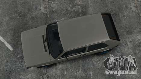 Volkswagen Golf MK1 GTI Update v2 pour GTA 4 est un droit