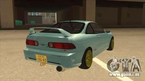 Honda Integra JDM Version pour GTA San Andreas vue de droite