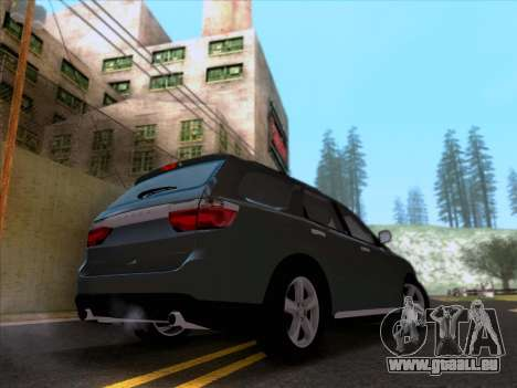 Dodge Durango Citadel 2013 pour GTA San Andreas sur la vue arrière gauche