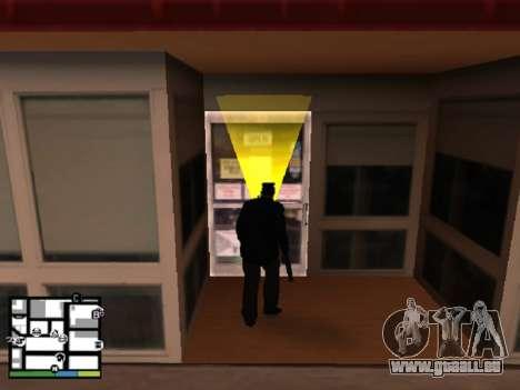 Vol magasin pour GTA San Andreas troisième écran